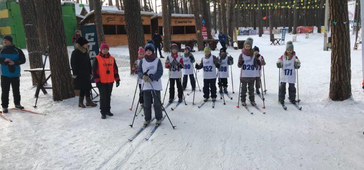 Продолжается проведения тестирования по  лыжам.