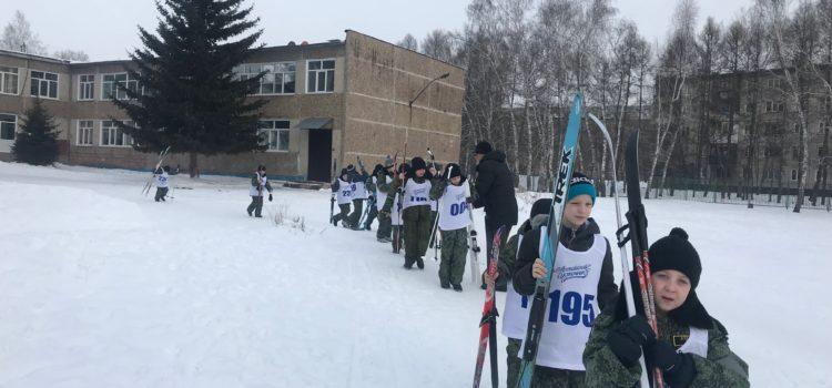 """5 и 6 марта в БКК прошли испытания """"лыжи"""". Кадеты продолжают успешную сдачу нормативов."""