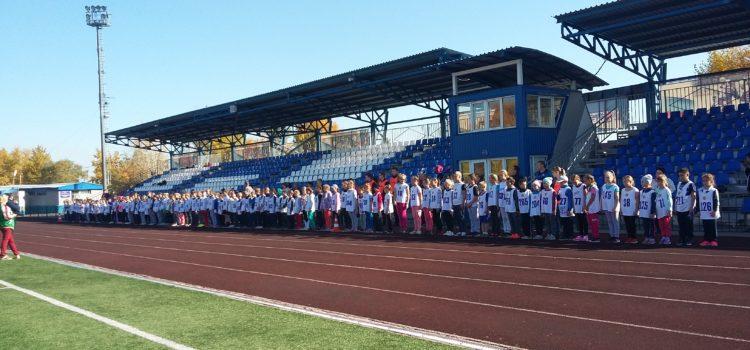 Школьники прошли испытания легкоатлетического блока