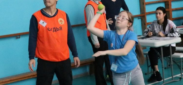 В Барнауле прошёл городской фестиваль ГТА для школьников с ограничениями возможностей здоровья «ГТО – доступно всем»