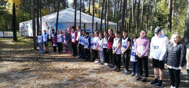 Кросс по пересеченной местности выполнили учащиеся школ