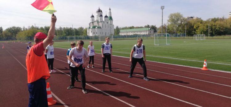 Продолжаются испытания ВФСК ГТО по легкой атлетике