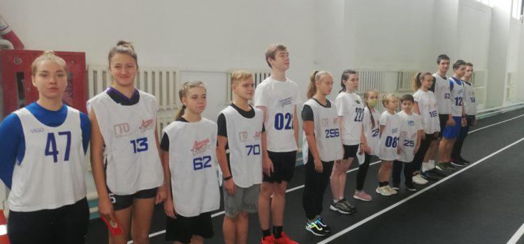Выполняем легкую атлетику в спортманеже АлтГТУ день второй