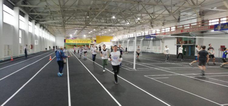 Выполняем легкую атлетику в спортманеже АлтГТУ день четвертый