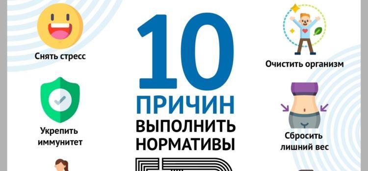 10 причин выполнить нормативы ГТО ⠀
