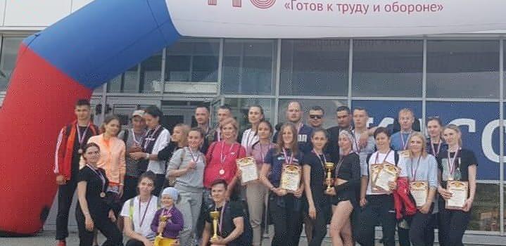 В Барнауле прошёл фестиваль ГТО среди работающей молодежи